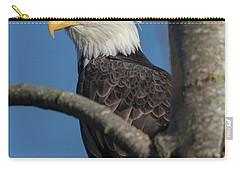 Staredown By Eagle  Carry-all Pouch