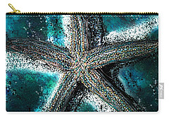 Starfish Ocean Deep Carry-all Pouch by Barbara Chichester