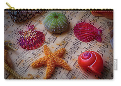 Starfish On Sheet Music Carry-all Pouch