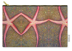 Starfish Pattern Bar Carry-all Pouch