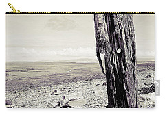 Carry-all Pouch featuring the photograph Stark Reality by Keith Elliott