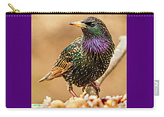 Starling In Glorious Color Carry-all Pouch