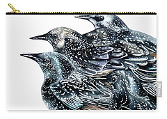 Starlings Carry-all Pouch by Marie Burke