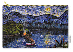Starry Lake Carry-all Pouch