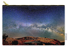 Starry Night Over Mesa Arch Carry-all Pouch
