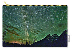 Starry Night Over The Tetons Carry-all Pouch