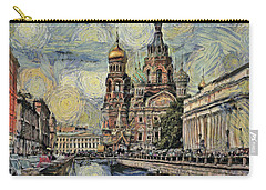 starry Saint Petersburg Carry-all Pouch