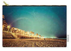 Carry-all Pouch featuring the photograph Starry Starry Pacific Beach by T Brian Jones