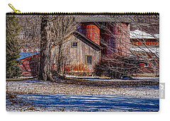 Carry-all Pouch featuring the photograph Starting To See Red by Kendall McKernon