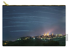 Startrails Over San Gimignano Carry-all Pouch