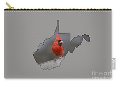 State Bird Of West Virginia Carry-all Pouch