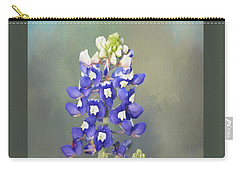 Carry-all Pouch featuring the photograph State Flower Of Texas by David and Carol Kelly