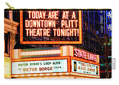 State-lake Theater Carry-all Pouch
