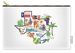 State Of Texas As I Know It Carry-all Pouch