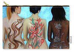 Tattooed Stately Curves Carry-all Pouch