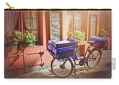 Stationary In Freiburg Carry-all Pouch by Carol Japp