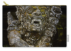 Carry-all Pouch featuring the photograph Statue Formalwear by T Brian Jones