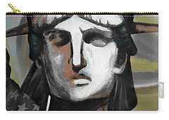 statue of liberty KJ78 Carry-all Pouch by Gull G