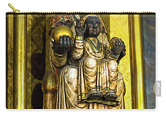Statue Of The Virgin Mary Carry-all Pouch