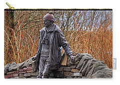 Statue Of Tom Weir Carry-all Pouch