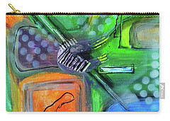 Carry-all Pouch featuring the painting Stay In The Game by Everette McMahan jr