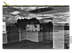 Carry-all Pouch featuring the photograph Stay Out by David Pantuso