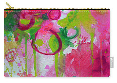 Carry-all Pouch featuring the painting Steal My Breath by Tracy Bonin
