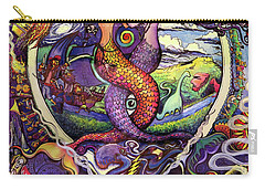 Steal Your Mermaids Carry-all Pouch by David Sockrider