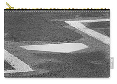 Carry-all Pouch featuring the photograph Stealing Home by Laddie Halupa