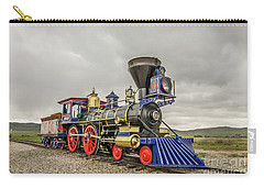 Carry-all Pouch featuring the photograph Steam Locomotive Jupiter by Sue Smith