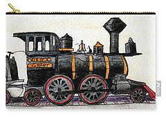 Steam Locomotive Carry-all Pouch by R Kyllo