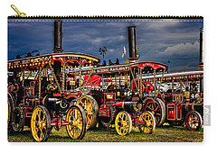 Carry-all Pouch featuring the photograph Steam Power by Chris Lord