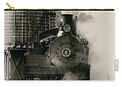 Carry-all Pouch featuring the photograph Steam Train by Jerry Fornarotto