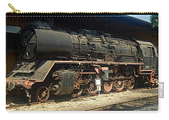 Steam Train  Carry-all Pouch by Pierre Van Dijk