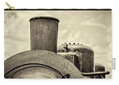 Carry-all Pouch featuring the photograph Steam Train Series No 2 by Clare Bambers