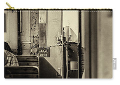 Carry-all Pouch featuring the photograph Steam Train Series No 33 by Clare Bambers