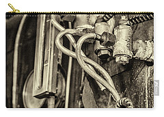 Carry-all Pouch featuring the photograph Steam Train Series No 36 by Clare Bambers