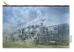 Steam Train Toned Carry-all Pouch by Randy Steele