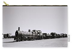 Steam Trains Carry-all Pouch by Shaun Higson