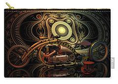 Steampunk Chopper Carry-all Pouch by Louis Ferreira