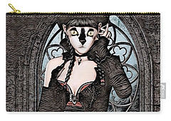 Steampunk Kitty By Artful Oasis Carry-all Pouch