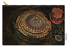 Steampunk Carry-all Pouch by Louis Ferreira