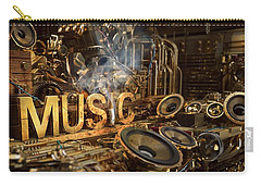 Steampunk Carry-all Pouches