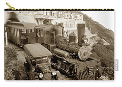 Stean Engine No. 8 Mount Tamalpais Circa 1920 Carry-all Pouch