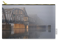 Steel Bridge In Fog Carry-all Pouch