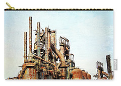 Steel Stack Blast Furnaces Carry-all Pouch