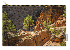 Steeply Up The Canyon Carry-all Pouch