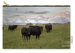 Steers In The Pasture Carry-all Pouch