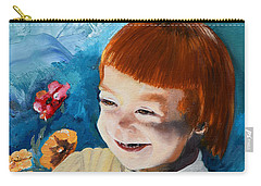 Stefi- My Trip To Holland - Red Headed Angel Carry-all Pouch