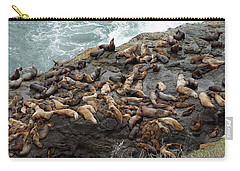 Steller Sea Lions Carry-all Pouch